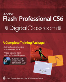 Flash CS6 book