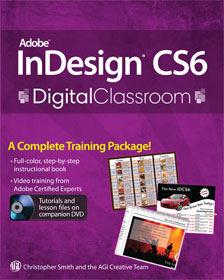 InDesign CS6 book