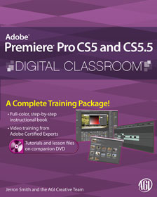 Premiere Pro CS5 and CS5.5 book